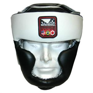 Bad Boy Pro Series Leather Headgear